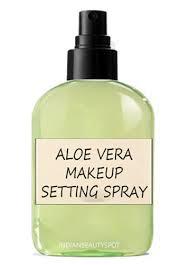 aloe vera makeup setting spray 3 part water 1 part aloe vera pour up to
