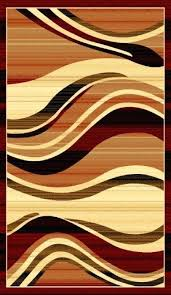 red and cream rug modern waves red area rug orange brown cream wave stripes multi red red and cream rug