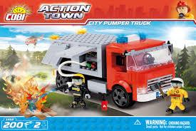 <b>Конструктор City Pumper</b> Truck - <b>COBI</b>-1468 | детские игрушки с ...