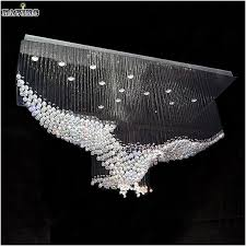 re led luxe new eagles design luxury modern crystal chandelier