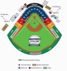 Cactus Bowl Seating Chart Ohio State Stadium Map Seating Chart For Maryvale Baseball