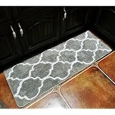 kitchen floor mats. Hihome Floor Mats For Home Kitchen Entrance Rug Indoor Grey Doormat Bath Mat (18×