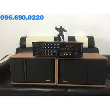 Bộ dàn loa Bose 301, amli 203N kết hợp chất âm cực hay