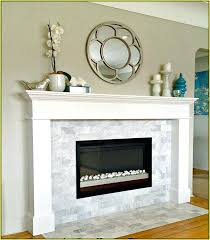 subway tile fireplace refacing painting ceramic surround can around be painted