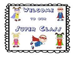 Image result for superheroes and back to school school