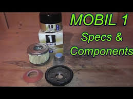 Mobil 1 Oil Filter Chart Mobil 1 Oil Filter Review Youtube