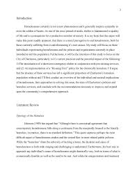 kirk mcswain bachelor s essay final homelessness in the american  3 3 introduction homelessness