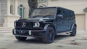 Too bad mercedes' comand interface is complicated; Inkas S Armored Mercedes Benz G Class Limo Isn T Just Bulletproof It S Grenade Proof