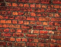 image of old brick wall background of
