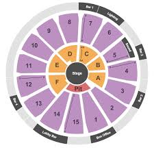 Houston Arena Theatre Tickets Box Office Seating Chart