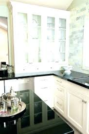 Black Granite Countertops With Tile Backsplash Stunning Granite Tile Backsplash Tmcnetco