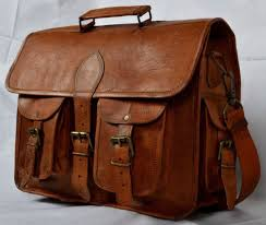 15 large brown natural leather messenger bag shoulder bag men s laptop