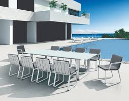 verona 10 seater dining table chairs