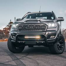 2018 Raptor Light Bar Ford Lower Grill Light Bar Bracket