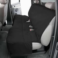 custom rear seat protector 2001 05 honda civic polycotton charcoal black dcc4119ch