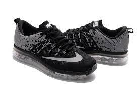 nike air max 2016 flyknit grey black running shoes wwwkobe10shopcom black grey nike air