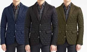 Braveman Men's Quilted Blazer Jacket (Size S) | Groupon & ... Braveman Men's Quilted Blazer Jacket: Braveman Men's Quilted Blazer  Jacket ... Adamdwight.com