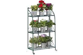 3 tier metal plant stand offer plants