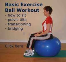 Free Exercise Ball Chart 187 Ball Exercises And Workouts Presented By A Physical