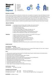 Civil Engineer Resume | Template Business
