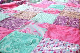 how to sew a patchwork child s duvet cover the diy mommy