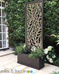 outdoor laser cut screens decorative