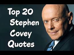Stephen Covey Quotes Cool Top 48 Stephen Covey Quotes The American Educator Author YouTube