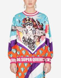 <b>Women's T</b>-<b>shirts</b> and Sweatshirts | Dolce&Gabbana - <b>LONG</b> ...