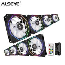 <b>ALSEYE 120mm</b> PC <b>Fan Cooler</b> Computer RGB <b>Fan</b> with RF ...