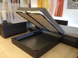 hydraulic lift storage bed made in italy furniture toronto within