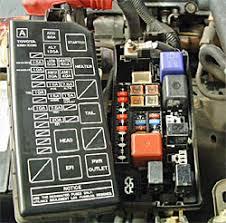 why won't my windshield washer work? 2005 toyota corolla fuse box diagram at 2006 Corolla Fuse Box