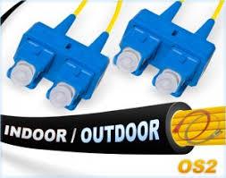 OS2 <b>SC SC</b> Indoor/Outdoor <b>Duplex SM</b> Fiber Patch <b>Cable</b> 9/125 ...