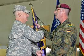 File:U.S. Army Lt. Col. Edward Cloyd, left, the outgoing commander ...