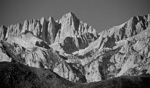 whitney black white. Mt. Whitney Photograph - In Black And White By Eric Tressler G
