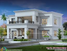 Kerala Flat Roof House Design Colonial Type Flat Roof House Architecture Kerala Home