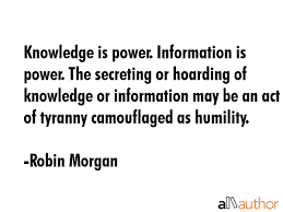 Knowledge Is Power Quote Gorgeous Knowledge Is Power Information Is Power Quote