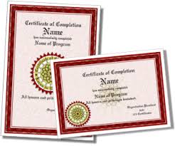 Certificates Of Completion Templates Certificate Of Completion Templates