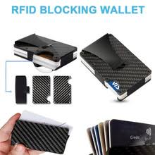 2020 новый дизайн минималистичный <b>кошелек RFID</b> Блокировка ...