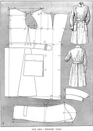 Trench Coat Pattern Magnificent Instructions For Drafting Men's Trench Coat Sewing Pinterest