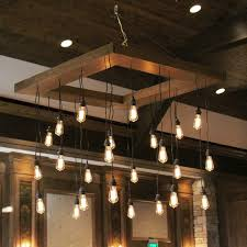 chandelier exciting edison bulb chandeliers edison bulb chandelier diy light hinging elegan modern wooden decoration