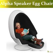 u best lee west lounge chair mod pod stereo alpha egg chair with speaker