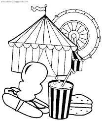 coloring pages tent coloring page or circus free printable pictures tee