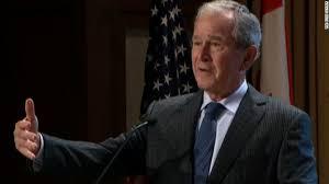 George W. Bush: Anger plays into politics