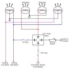 diagrams 733487 hella relay wiring diagram relay wiring lights how to wire spotlights into high beam at Spotlight Wiring Diagram Relay