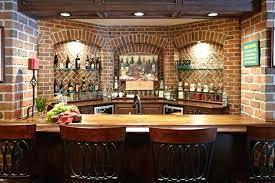 Basement Bar Ideas Whiskey Bar Basement Bar Ideas With Stone