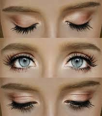 blue eyes easy step by step beginners guide natural but pretty eye makeup