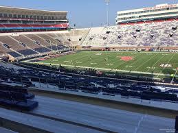 Vaught Hemingway Stadium Section M Rateyourseats Com