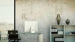 architecture blueprints wallpaper. Motif Vinyl Wallpaper BLUEPRINT By GLAMORA Architecture Blueprints