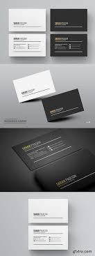 business card psd template black with white clean business card psd template life psd file