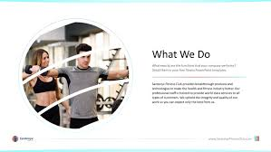 Health And Fitness Premium Powerpoint Template Slidestore